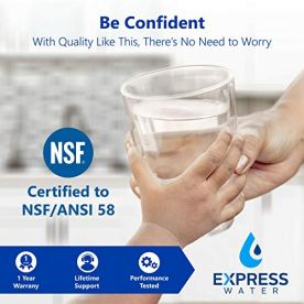 Express-Water-RO5DX-Reverse-Osmosis-Filtration-NSF-Certified-5-Stage-RO-System-with-Faucet-and-Tank--Under-Sink-Water-Plus-4-Replacement-Filters--50-GPD-14-x-15-x-5