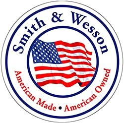 """Authentic Smith & Wesson Since 1852 American Made/American Owned Decal Signature 4"""" Decal"""
