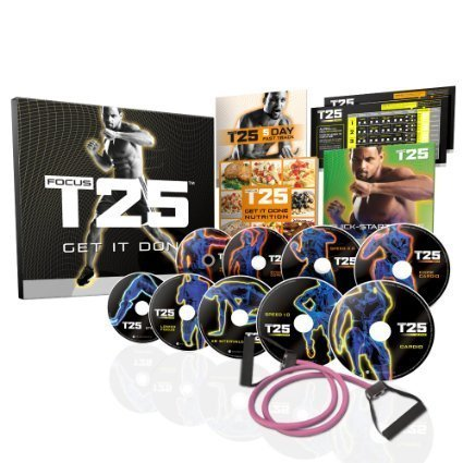 FOCUS T25 Shaun T's NEW Workout DVD Program—Get It Done in 25 Minutes
