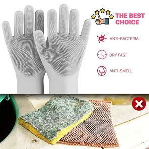 anzoee-Reusable-Silicone-Dishwashing-Gloves-Pair-of-Rubber-Scrubbing-Gloves-for-Dishes-Wash-Cleaning-Gloves-with-Sponge-Scrubbers-for-Washing-Kitchen-Bathroom-Car-More-Gray
