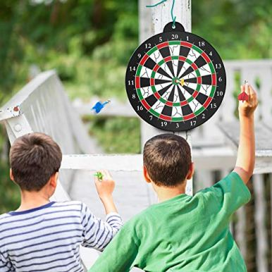 STREET-WALK-Magnetic-Dart-Board-12pcs-Magnetic-Dart-Excellent-Indoor-Game-and-Party-Games-Magnetic-Dart-Board-Toys-for-5-6-7-8-9-10-11-12-Year-Old-boy-Kids-and-Adult