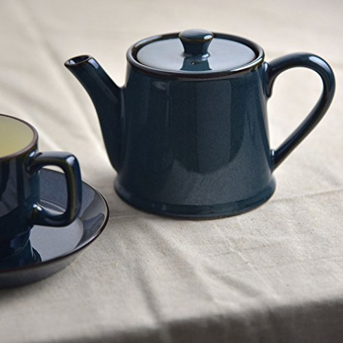 made in Japan Mino ware Scandinavian blue Tea pot(ST type)