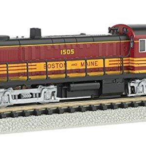 Bachmann Industries Boston & Maine ALCO RS-3 Diesel Locomotive 51cB8TrsMyL