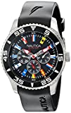 Nautica Men's N12626G NST 07 Flags Classic Stainless Steel Watch