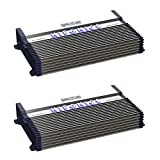 Hifonics BXX1200.4 Brutus 1200W RMS A/B 4 Channel Speaker Car Amplifier (2 Pack)