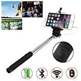 Selfie Stick for Smartphones, Wired Handhled Monopod, Self-Portrait Monopod Pole, Extendable Selfie Stick with Adjustable Holder for Razer Phone