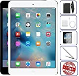 Apple iPad Mini 2 16GB,32GB,64GB,128GB - Wifi | Bundle Includes: Case, Tempered Glass, Stylus Pen, 1 Year Warranty (16GB, Space Gray) (Renewed)