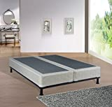 Spinal Solution 8-Inch Queen Size Fully Assembled Split Foundation Box Spring for Mattress, Sensation Collection