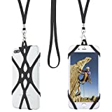 Gear Beast Universal Web Cell Phone Lanyard Compatible with iPhone, Galaxy & Most Smartphones Includes Phone Case Holder, Shoelace Neck Strap