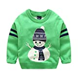 Product review for Baby Boys Girls Toddler Long Sleeve Christmas Lovely Deer Sweater Sweatshirt