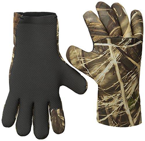Glacier Glove Aleutian Full-Fingered Neoprene Fleece Lined Glove (Max 5, Medium)