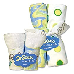 Dr. Seuss Bib & Burp Cloth Set