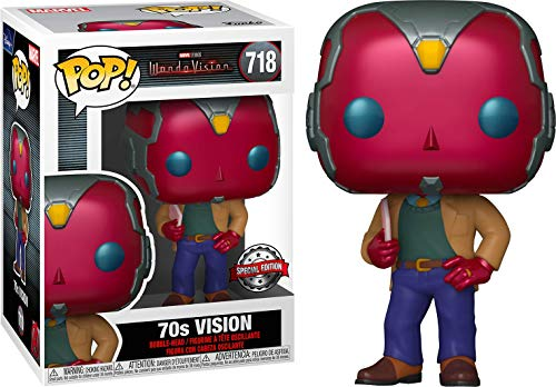 Funko-Pop-Marvel-Wandavision-70s-Vision-Exclusive-Figure