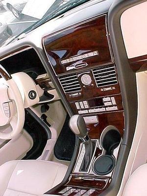 Navigator Lincoln Interior Burl Wood Dash Trim Kit Set 2003 2004