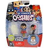 "Ooshies Set 1 ""DC Comics Series 1"" Action Figure (4 Pack)"