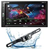 Pioneer AVH-310EX Multimedia DVD Receiver with 6.8' WVGA Display and Bluetooth Streaming with Rear Backup Camera 95BK