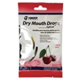 Hager Pharma Dry Mouth Drops, Cherry, 26 Count Per Bag (3 Bags)