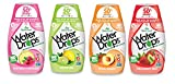 Sweetleaf Stevia Natural Water Drops Variety Pack with Raspberry Lemonade, Lemon Lime, Peach Mango & Strawberry Kiwi (1.62 Ounce Each)