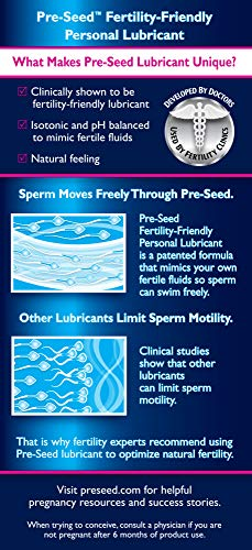 Pre-Seed Fertility Friendly Lubricant, Lube for Women Trying To Conceive deal 50% off 51clUUvP tL