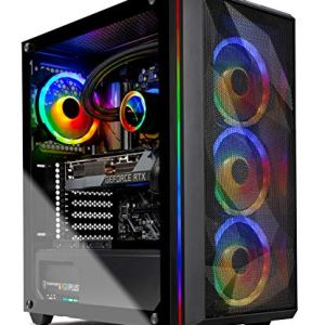 Skytech Chronos Gaming PC Desktop – AMD Ryzen 9 3900 3.1GHz, RTX 3080 10GB, 16GB DDR4, Seagate Firecuda 520 1TB PCIe…