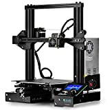 SainSmart x Creality Ender-3 3D Printer, Resume Printing V-Slot Prusa i3, for Home & School Use, Build Volume 8.7' x 8.7' x 9.8'