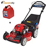 Toucan City Toro Recycler 22 in. SmartStow Briggs and Stratton PoweReverse Personal Pace Gas Walk Behind Mower 20355 and Gas Can