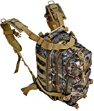 Mossy Oak Explorer Realtree Like Tactical Hunting Camo Heavy Duty Duffel Bag Luggage Travel Gear for Huniting Outdoor Police Security Every Day Use (B3Backpack)