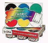 Speedball Fabric Screenprinting Ink Starter Set