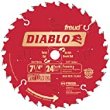 Diablo D0724A 7-1/4' 24T Diablo Circular Saw Framing Blade