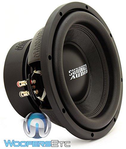 Sundown Audio E-10 V.3 D4 10' 500W RMS Dual 4-Ohm EV.3 Series Subwoofer