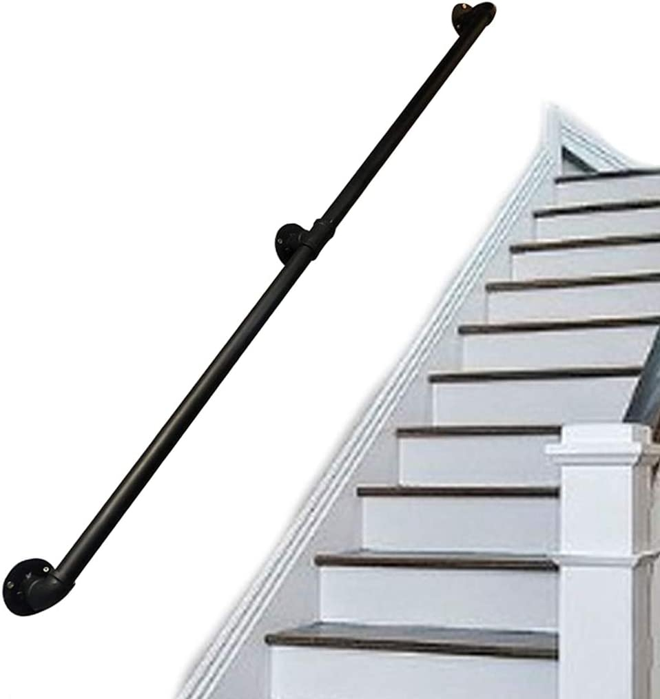 Amazon Com Handrails For Elderly Kids Outdoor Indoor Stairs Steps   Stair Rails For Elderly   Stair Climbing   Down Stairs   Wood   Cmmc Handrail   Pipe