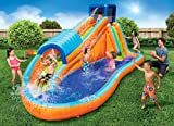 BANZAI 90330 Surf Rider Inflatable Backyard Outdoor Water Park with Blow Motor