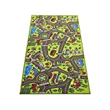 Extra Large 79' x 40'! Kids Carpet Playmat Rug   City Life, Great to Play with Cars & Toys - Have Fun! Safe, Learn, Educational -Ideal Gift for Children Baby Bedroom Play Room Game Play Mat Rugs