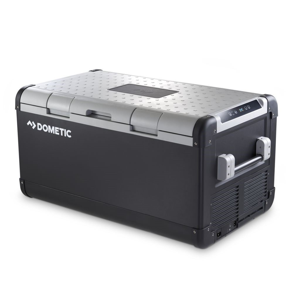Dometic CFX 100W Fridge/Freezer 12v/24v WiFi controlled freezer with USB charging port?? Dometic offered to send us their latest tech for the boat. The WiFi features are kinda useless, but overall we love the freezer for our flybridge!