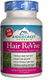 RidgeCrest Herbals Hair Revive Natural Defense Fights Women's Hair Loss Veg Caps 120