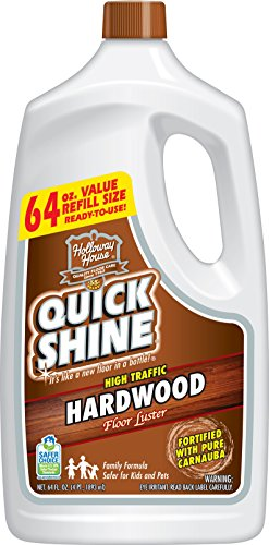 Quick Shine High Traffic Hardwood Floor Luster and...