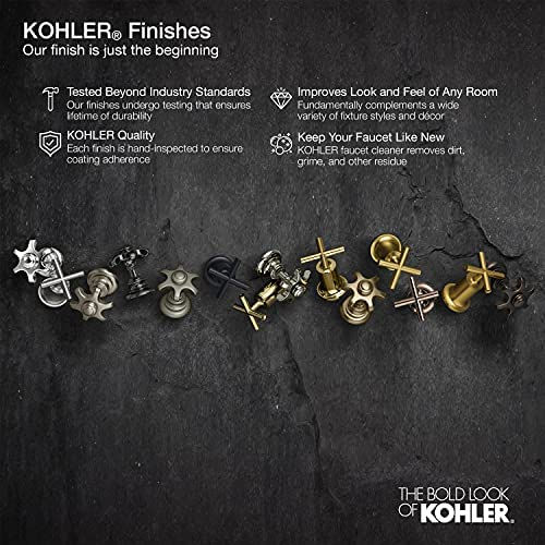 Kohler K-22169-G-CP Forte 1.75 GPM Multifunction Showerhead with Katalyst Air-Induction Technology, Polished Chrome 22