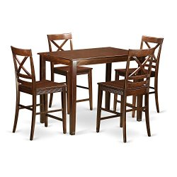 5 PC counter height set – Small Kitchen Table and 4 counter height Chairs.