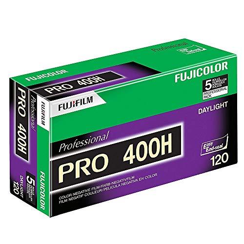 Fujifilm 16326119 Fujicolor Pro 120, 400H Color Negative Film ISO 400