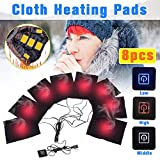Euone Heating Pad Clearance, Electric Vest Heated Cloth Jacket USB Thermal Warm Heated Pad Winter Body Warmer