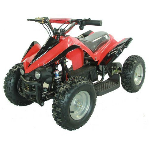 Youth Electric Kids Quad Sport ATV for Children with Reverse - Red