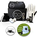 Boxed Golf Premium Golf Gifts for Men & Women Best Personal Gift Box   Complete Golfing Set with Accessories - Unique Gift Baskets Idea for Golfers Birthdays - Great Fathers Day Basket for Dad
