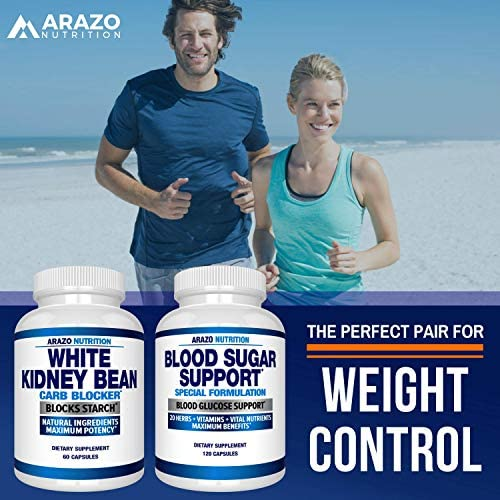 White Kidney Bean Extract - 100% Pure Carb Blocker and Fat Absorber for Weight Loss - Intercept Carbs – Arazo Nutrition 8