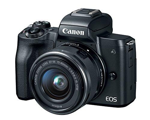 Canon EOS M50 Mirrorless Camera Body w/4K Video (Black)