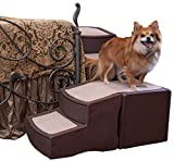 Pet Gear Easy Step Bed Stair for Cats/Dogs with Storage...