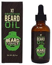 Beard Farmer - Growther XT Beard Oil (Extra Fast Beard Growth) All Natural Beard Growth Oil  Image