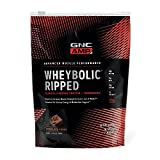GNC AMP Wheybolic Ripped Whey Protein Powder, Chocolate Fudge, 9 Servings, Contains 40g Protein and 15g BCAA Per Serving