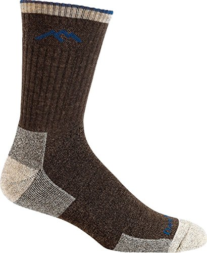 Darn Tough Vermont Merino Wool Micro Crew Cushion Sock, Chocolate, X-Large(12.5+)
