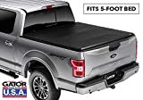 Gator ETX Soft Tri-Fold Truck Bed Tonneau Cover   59501   fits Nissan Frontier 2005-19 (5 ft bed)