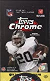 1 (One) Box - 2008 Topps Chrome Football Hobby Box (24 Packs per Box) - Possible Matt Ryan, Matt Forte, Chris Johnson, Joe Flacco, DeSean Jackson, Darren McFadden, and/or Felix Jones Rookie Cards!!!!